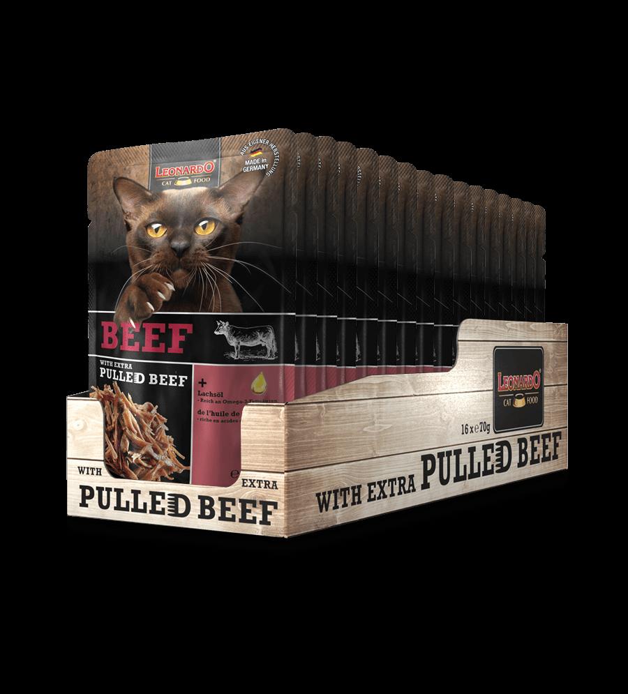 LEONARDO® Beef + extra Pulled Beef